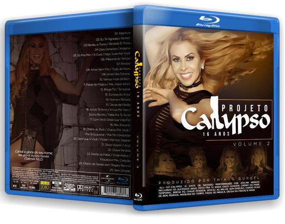 Blu-ray Projeto Calypso 16 Anos Vol. 2 *joelma