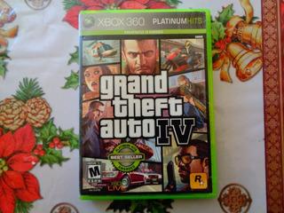 Gran Theft Auto Iv- Xbox 360