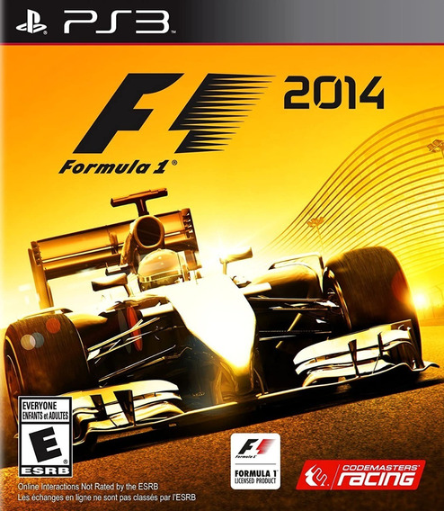 Formula 1 2014 Mídia Física Playstation 3