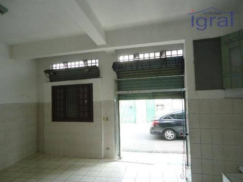 Imagem 1 de 3 de Salão Para Alugar, 100 M² Por R$ 1.000,00/mês - Vila Parque Jabaquara - São Paulo/sp - Sl0099