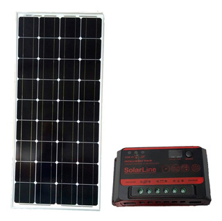 Panel Solar Fotovoltaico 100wp 100watts + Regulador 10 Amper
