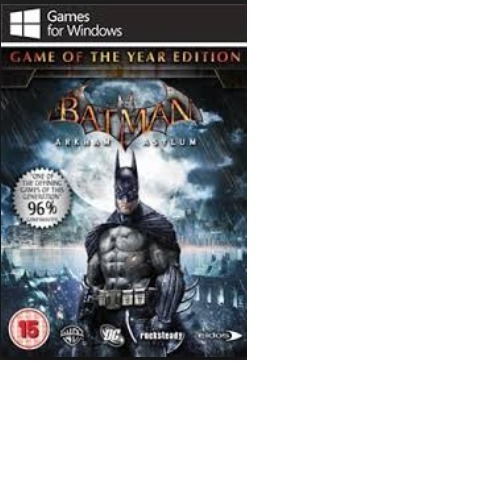 Batman - Arkham Asylum Goty-pc-dvd(midia Fisica)