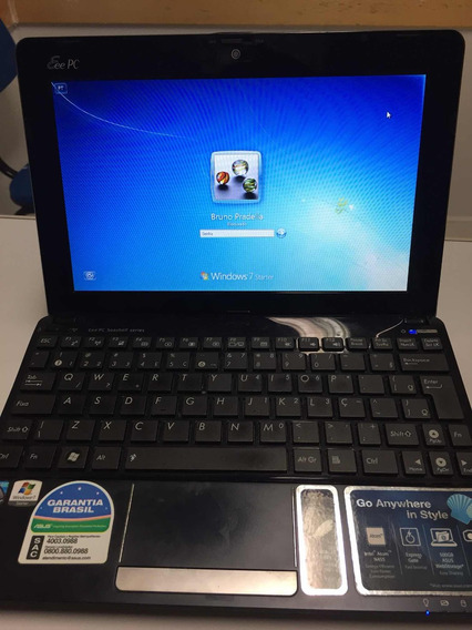 Netbook Asus 10,1 (conservadíssimo)
