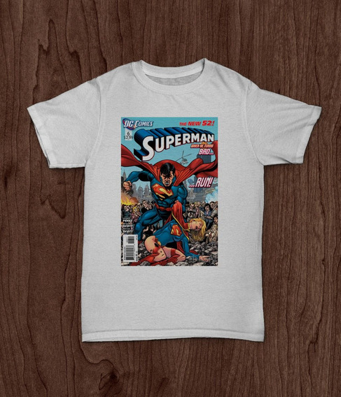 Remera Superman Portada Comics