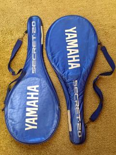 Raquete Yamaha Secret 20 - Par + Raqueteiras