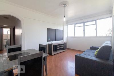Apartamento No 5º Andar Mobiliado Com 2 Dormitórios E 1 Garagem - Id: 892931334 - 231334