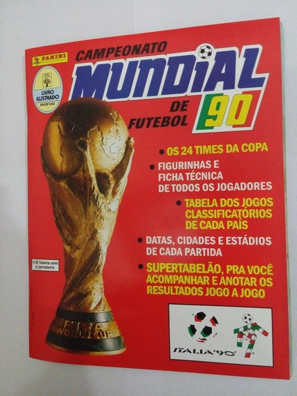 Kit Álbum Copa Do Mundo 90 - 94 - 98 - 02 - 06 - 10 - 14- 18