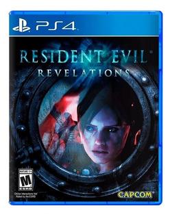 Resident Evil Revelations Ps4 Fisico Sellado Nuevo