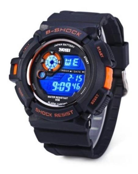 Relógio Skmei 0939 Multifuncional Esporte Digital Led 5atm