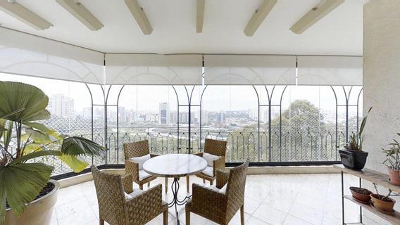 Apartamento Em Paraíso Do Morumbi, São Paulo/sp De 446m² 4 Quartos Para Locação R$ 16.500,00/mes - Ap301977