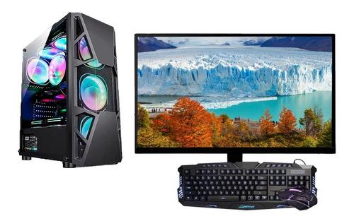 Imagem 1 de 5 de Computador I5 8gb Hd 500 C/ Monitor 19 Win10
