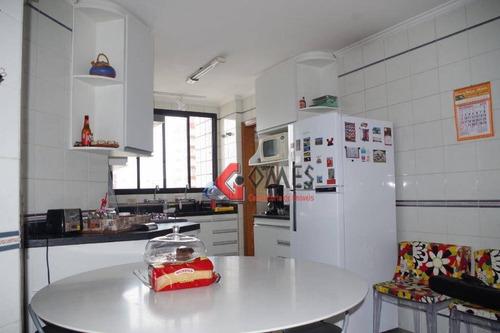 Apartamento Com 3 Dormitórios À Venda, 140 M² Por R$ 745.000,00 - Baeta Neves - São Bernardo Do Campo/sp - Ap2710