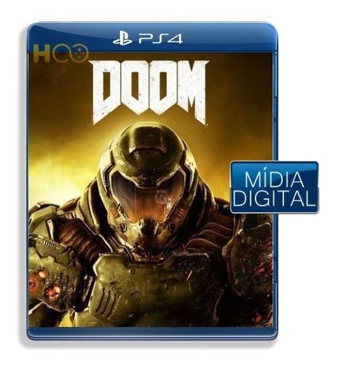 Doom - Ps4 Cod Psn I Entrega Imediata