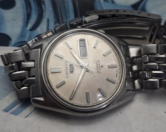 Relógio Seiko Automático 6119-8093 Bela Pulseira