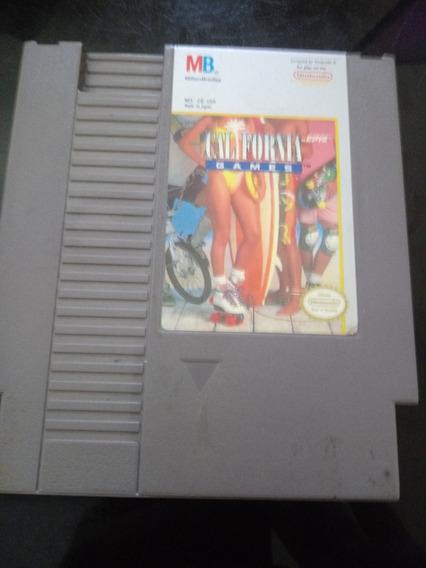 California Games Original Nintendo P/ Nes 8 Bits