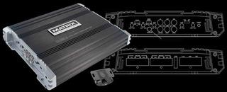 Amplificador Matrix Dx1000.2 2 Canales 1000w / 500 Rms