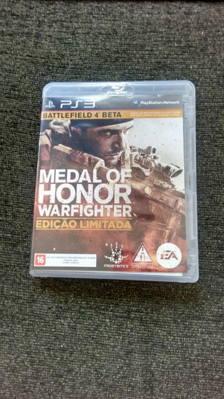 Medal Of Honor Warfighter Edição Limitada Original Ps3