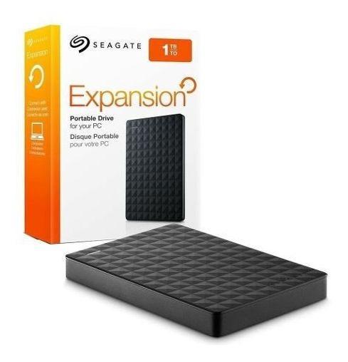 Hd Externo 1tb Seagate Portatil Expansion Usb 3.0 + Nfe