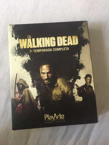 Blu Ray The Walking Dead 3 Temporada Completa