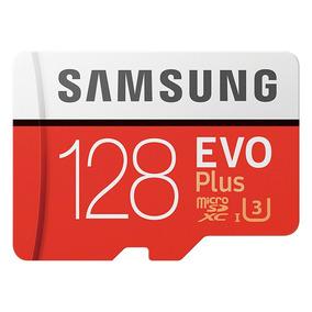 Cartão Samsung Micro Sd Evo Plus 128gb 100m / S Tf