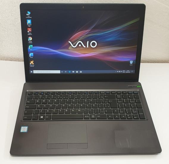Notebook Vaio Fit 15s Vjf155 I7-7500u 8gb/ssd 240 M2+hd500gb