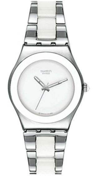Relógio Swatch Tresor Blanc - Yls141gc