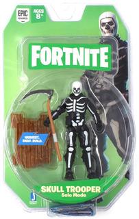 Skull Trooper Figura Articulada Fortnite De Coleccion 10cm