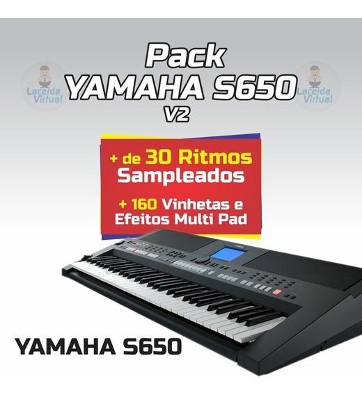 Pack Yamaha S650 V2 + Ritmos + Vinhetas MultiPad