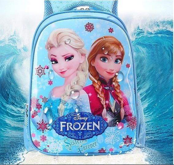 Mochila Niña Frozen Elsa Y Ana