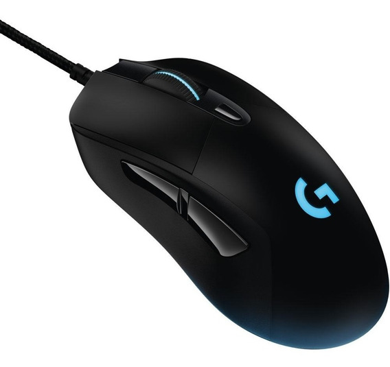 Logitech Mouse Gamer G403 Lightsync Rgb 6 Botões 12000 Dpi