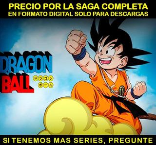 Serie Anime Dragon Ball Saga Completa En Hd Envio Digital