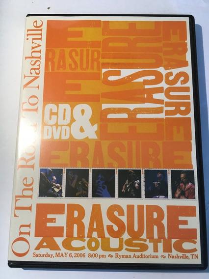 Erasure Acoustic - On The Road To Nashville Dvd + Cd