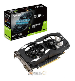 Asus 4gb Gtx 1650 Tarjeta De Video Gddr5 Overclocked Dual