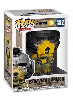 Funko Pop Games Fallout 76 482 Excavator Armor