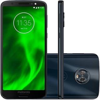 Motorola Moto G6 Xt1925 Índigo 5.7 32gb 12mp Frete Grátis
