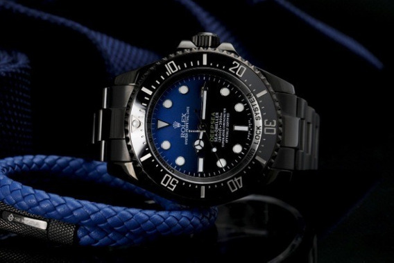 Relógio Eta - Mod. Deepsea Dweller Black - Base Eta 2840.