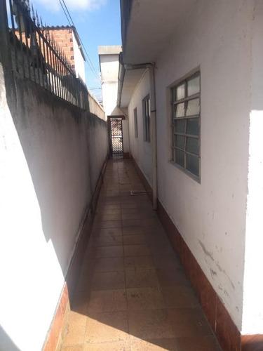 Imagem 1 de 15 de Casa Para Venda Em São Paulo, Jardim Noemia, 3 Dormitórios, 2 Banheiros, 3 Vagas - V256_2-1180645
