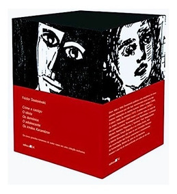 Box Livros Grandes Obras De Fiodor Dostoiévski - Editora 34