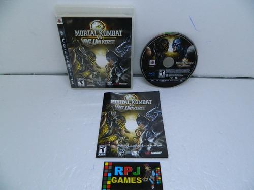Imagem 1 de 8 de Mortal Kombat Vs Dc Universe Original Midia Fisica P/ Ps3