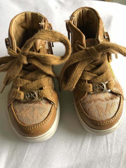 Zapatillas Botitas De Nena Michael Kors Originales