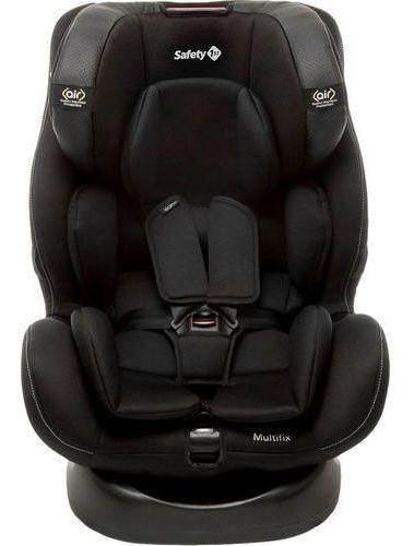 Cadeirinha De Carro Bebê Safety Multifix Isofix 0-36kg Preta