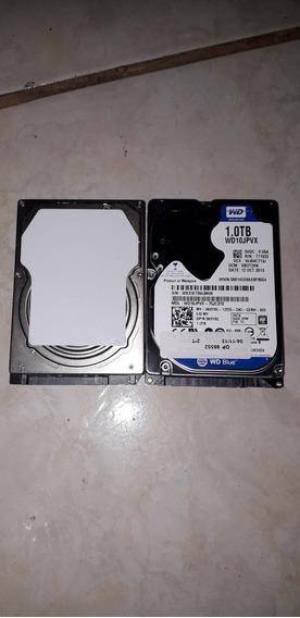 Hds 320gb Toshiba + Hd 1tb Western Digital