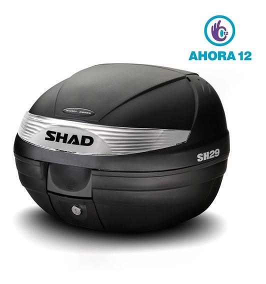 Baul Shad 29 C/base Reflectivo Blanco - Ahora 12