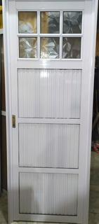 Puerta Aluminio Herrero 25mm Blanco