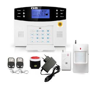 Alarma Casa-negocio Inalambrica Chip Gsm-linea Fija
