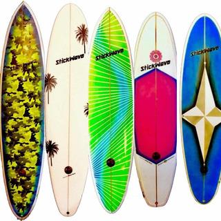 Tabla De Surf Fun 7,4 A 7,8 Nuevas Stickwave Factory