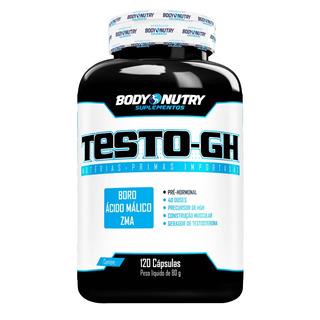 Pre Hormonal Testo Gh (120 Caps) - Body Nutry