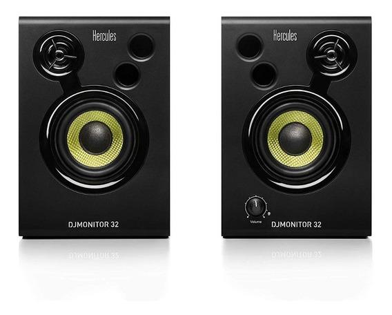 Hercules Dj Monitor 32 Caixa De Som Speaker