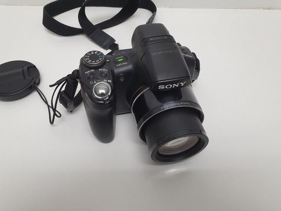Câmera Digital Semi Profissional Sony 9.1 Mp Dsc-hx1 Com 8gb