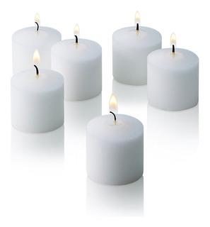 Velon 3 Días X 10 Unid - Color Blanco * Bautismo Casamiento